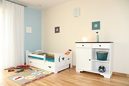 arbox massivholz kinderbett mit rausfallschutz kinderzimmer. Black Bedroom Furniture Sets. Home Design Ideas